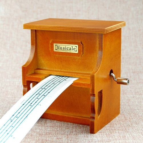 Create Your Song Piano Music Box