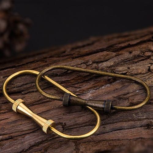 Brass Screw Keychain
