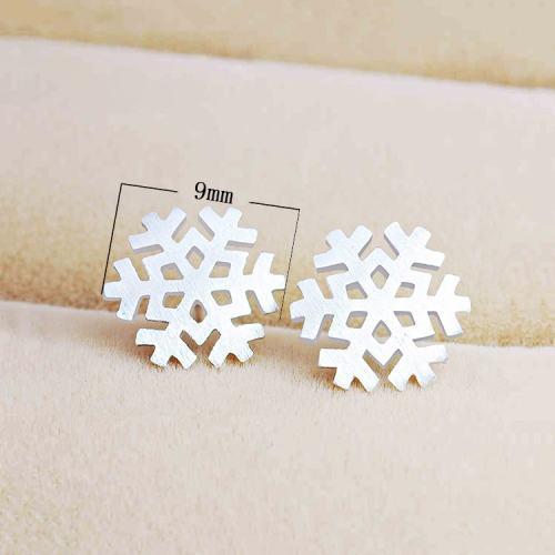 Snowflake Ear Stud