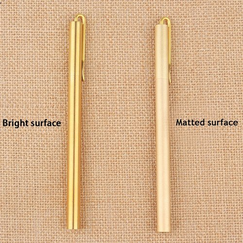 Personalized Brass Clip Ballpoint Pen