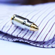 Bullet Cufflinks by VEASOON