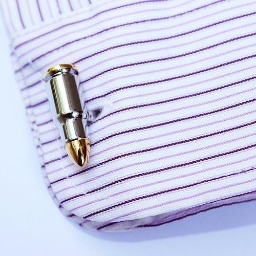 Bullet Cufflinks by VEASOON