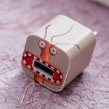 Cute Animation iPhone Charger Stickers