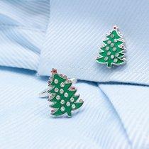 Christmas Tree Cufflinks