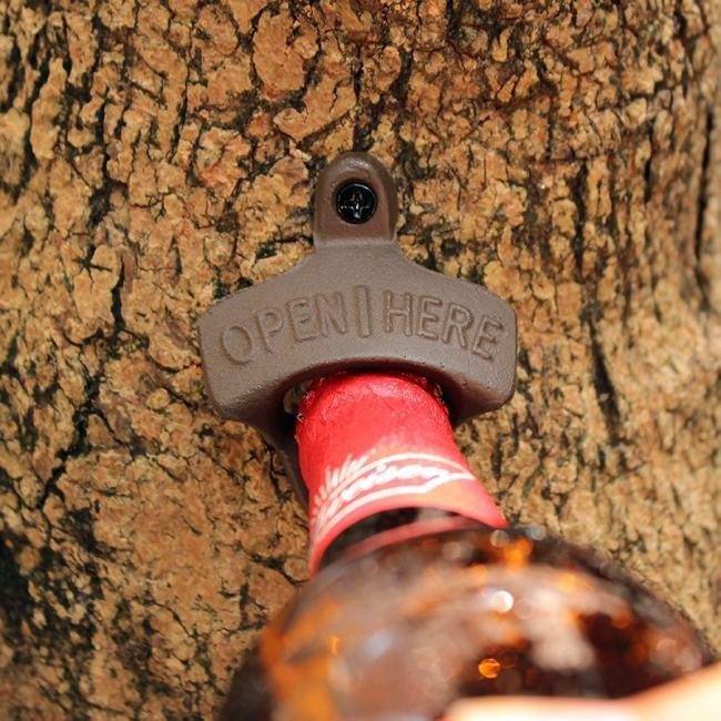 Vintage Cast Iron Bottle Opener for Bar Home