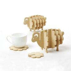 Hedgehog Sheep Coasters