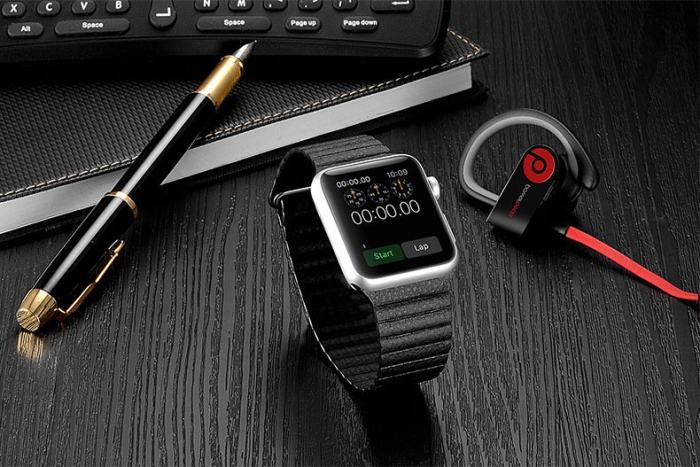 Magnet Genuine Leather Apple Watch Band