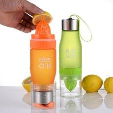 Lemon Fruit Juicer Bottle H2O Drink More Water Bottle Outdoor Drink Bottle Gift Ideas