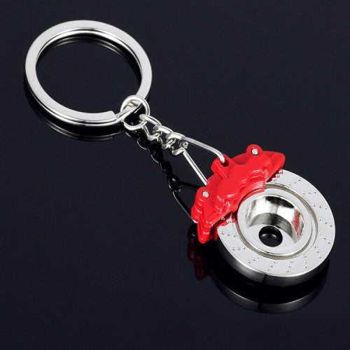 Disc Brake Keychain Fidget Gadget Gifts for Fidgeter