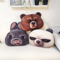 3D Animal Sofa Pillow