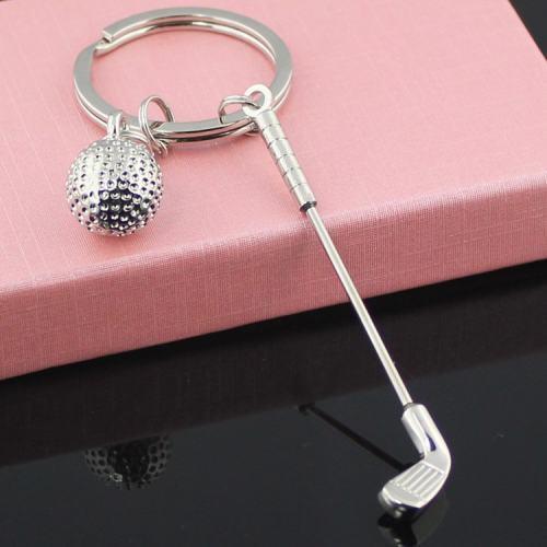 Golf Keychain,golf gift,golf ball keychain real golf ball keychain