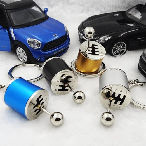 Six Speed Manual Transmission Keychain