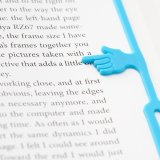 Silicone Finger Pointing Bookmarks