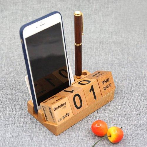 Wood Blocks Calendar