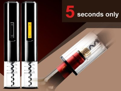 Automatic Electric Corkscrew Set Gift Pack