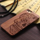Wood Skull iPhone Case