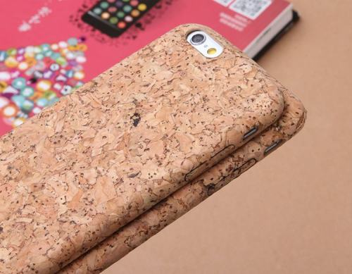 Clearnace Cork Wood iPhone Case