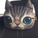3D Animal Charcoal Car Pillow