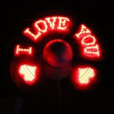 LED Programmable USB Fan