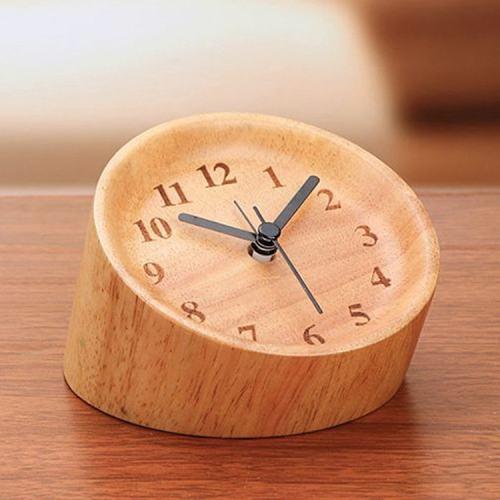Humanization Visual Angle Wooden Alarm Clock Personalized Clock