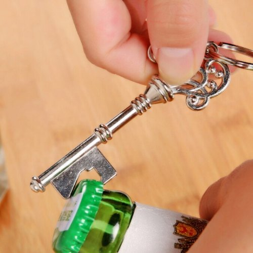 Skeleton Key Bottle Opener Wedding Gifts