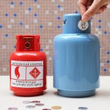 Gas Tank Piggy Bank Coin Bank Box Gift for Kids