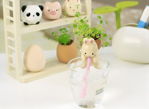 Clearance Animal Self Watering Plant Pot
