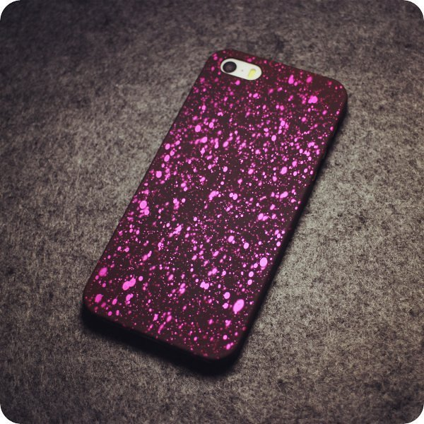 Hot Pink Drops iPhone Cases
