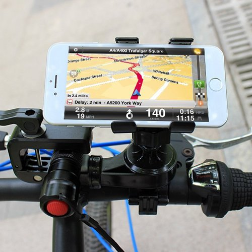 Clearance Free Shipping Multifunctional Bicycle Mount Hold Smartphone and Flash Light