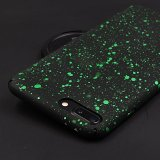 Green Starry Night iPhone Cases