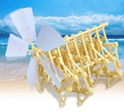 Wind-Powered-Mini-Strandbeest-Kit-Wind-Power-Beast-Education-Toys-for-School-Elementary-Grade-Schooler-Gifts-for-Children-Teen