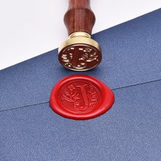 Floral Letters Wax Seal Kit Best Gift Idea