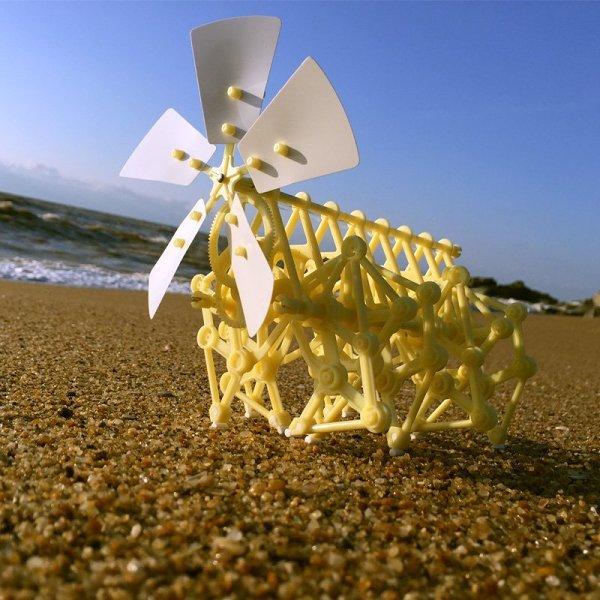 Wind Powered Mini Strandbeest Kit