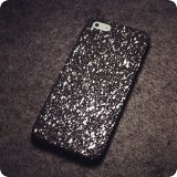 Silver Starry Night iPhone Cases