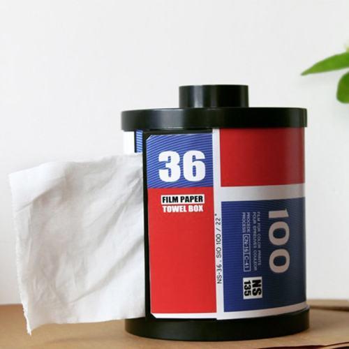 Classical Film Roll Tissue Dispenser Holder Tissue Box 80s
