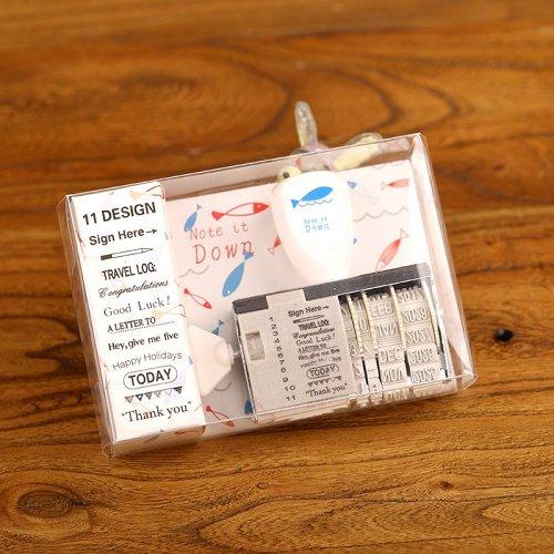 Speaking Date Rotating Stamp