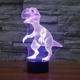 3D Dinosaur Light Show