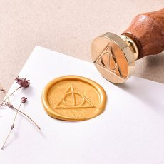 Deathly Hallows Wax Seal Stamp