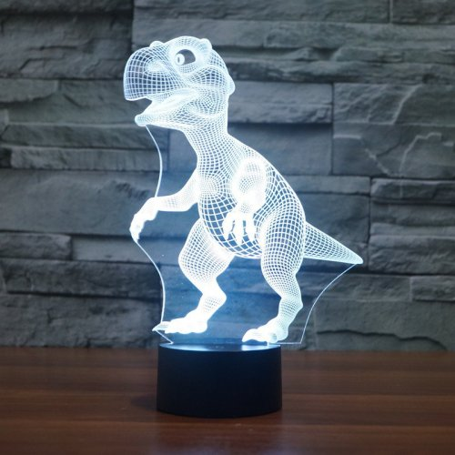 3D Dinosaur Light Show