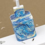 Starry Night iPhone Charger Stickers