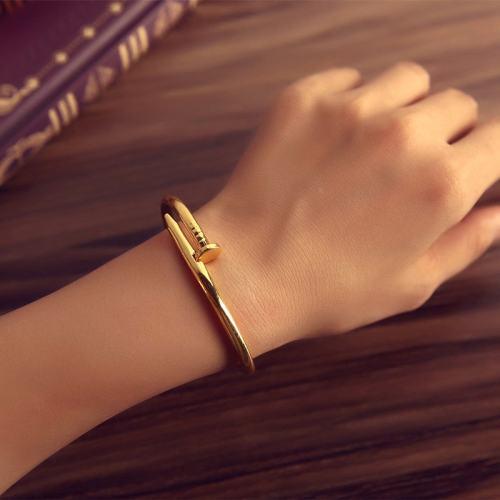 Nail Bracelet Titanium Steel Nail Bracelet Men Nail Black Bracelet Gold Silve Nail Bracelet