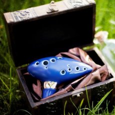 Legend of Zelda 12 Hole Ocarina