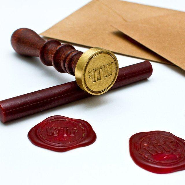 WTF Brass Seal