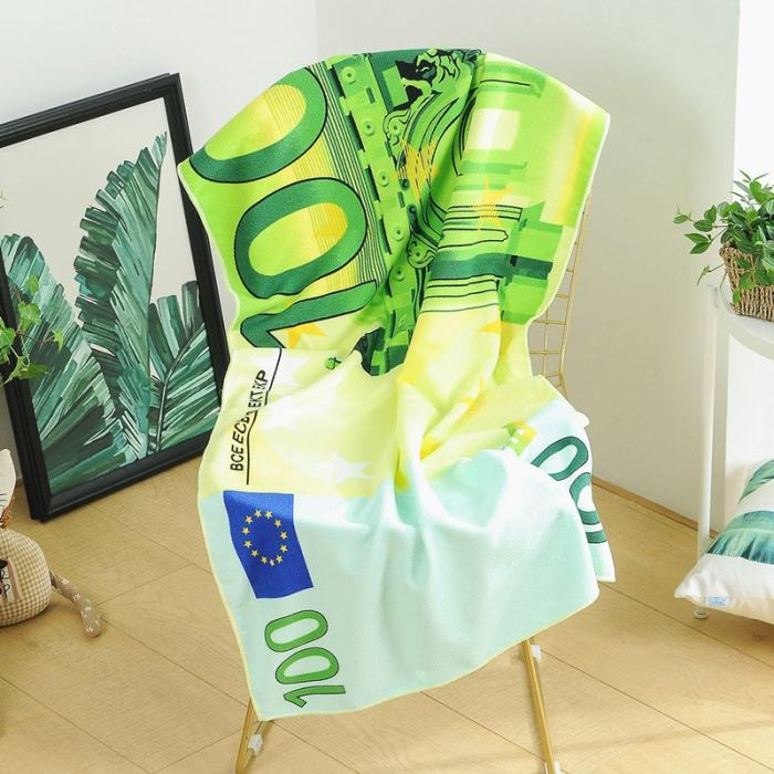 Cash Money Beach Towel