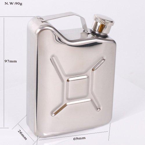 Mini Jerry Can Flask Customizable Flask