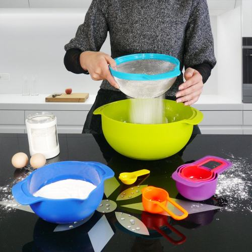 Compact Food Preparation Set