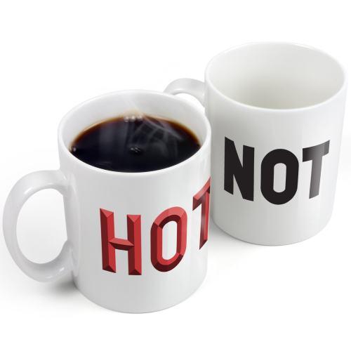 Not Hot Heat Sensitive Mug
