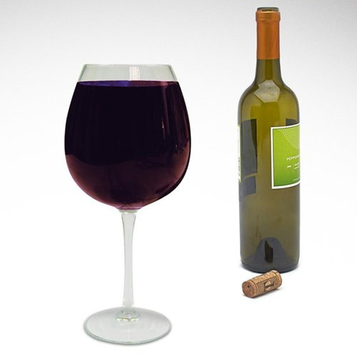 Extra Large XL Wine Glass