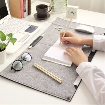 Locking Edge Felt Desk Mat