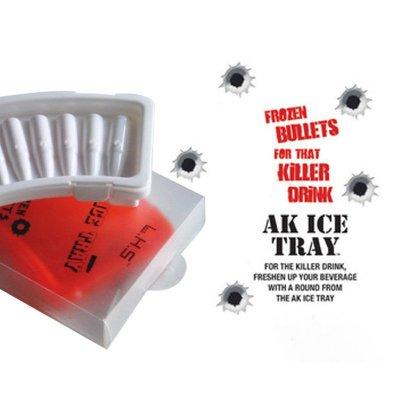 AK Bullet Ice Cube Tray Bullet Ice Tray Creative Gift